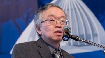 Milton Kashiwakura, diretor do NIC.br, fala durante o Encontro Provedores Regionais Campinas, realizado pela Bit Social, no auditório do CPqD, em Campinas (11 de julho de 2017).
