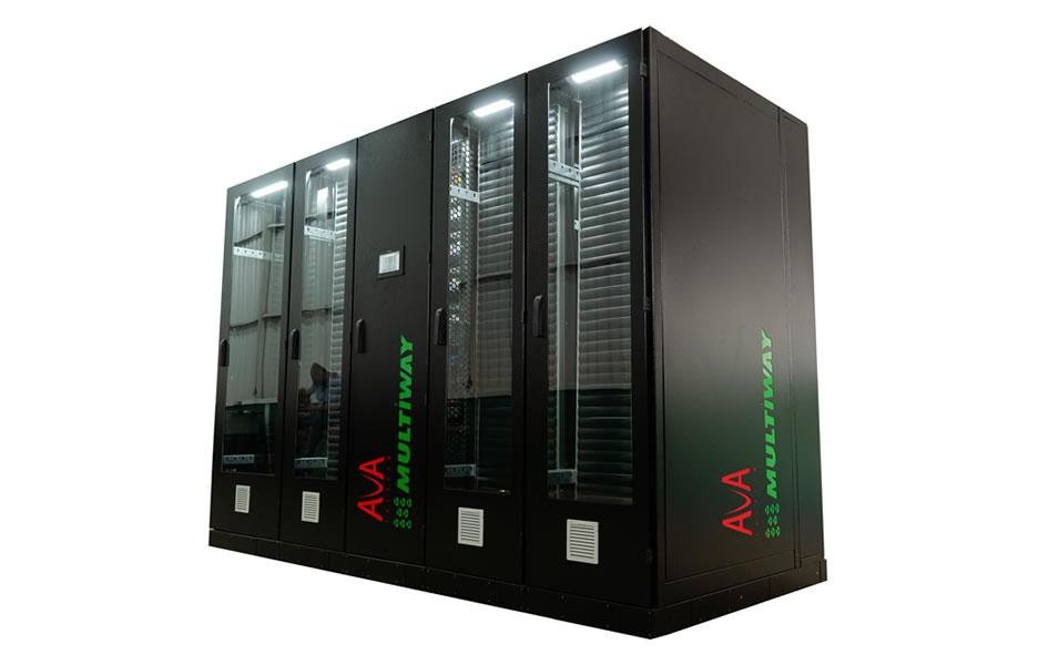 Racks Multiway em edge data center Ava Telecom - Crédito: Divulgação